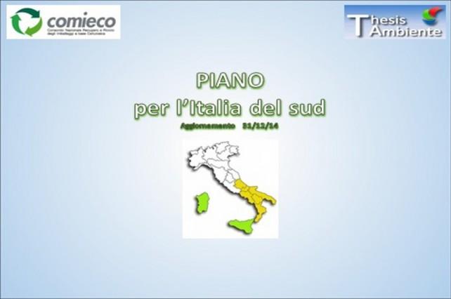 piano Italia del sud
