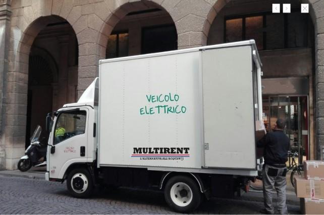 isuzu elettrico centina multirent